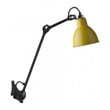 Lampe Gras 222 Væglampe Sort - Gul fra DCW Éditions
