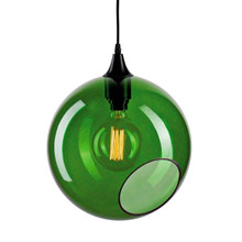 Ballroom XL Pendel Lampe- Green/sølv - Design By Us