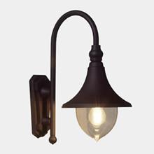 Trumpet Udendørs Væglampe Model F fra Noral