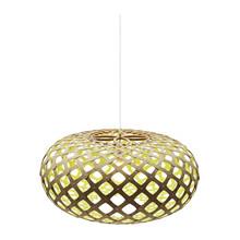 Kina Lime pendel Lampe fra David Trubridge