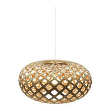 Kina Orange pendel Lampe fra David Trubridge