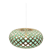 Kina Aqua pendel Lampe fra David Trubridge