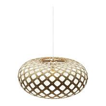 Kina White pendel Lampe fra David Trubridge
