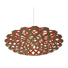 Flax Red pendel Lampe fra David Trubridge