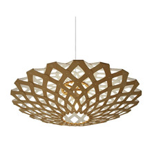 Flax White pendel Lampe fra David Trubridge