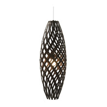 Hinaki Pendel Black Lampe fra David Trubridge