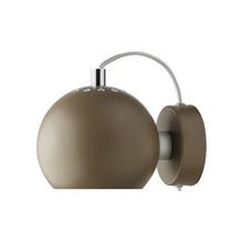 Ball Væglampe - Brun Mat Fra Frandsen