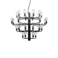 Amp Chandelier Large Smoke/Black - Normann Copenhagen