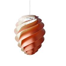 Swirl CP2 Kobber Pendel Lampe - Medium - Le Klint