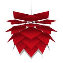 Illumin Rød Pendel Lampe fra Frank Kerdil