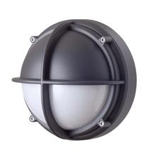 Skot LED Væglampe - Halvafskærmet Opalt Glas