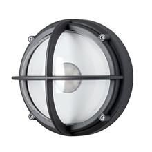 Skot LED Væglampe - Uafskærmet Klart Glas