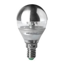 Topforspejlet LED pære 3,5W – Lille Fatning Megaman