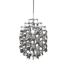 Spiral Mini Sølv pendel lampe design Verner Panton