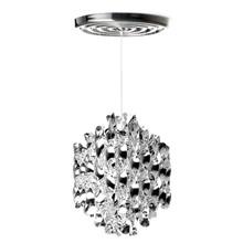 Spiral SP1 Sølv pendel lampe design Verner Panton