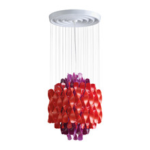 Spiral SP1 Multi color pendel lampe design Verner Panton