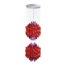 Spiral SP2 Multi color pendel lampe design Verner Panton
