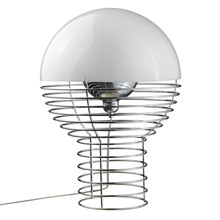 Wire Bordlampe design Verner Panton