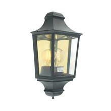 Glasgow Utendørs Vegglampe Svart - Norlys