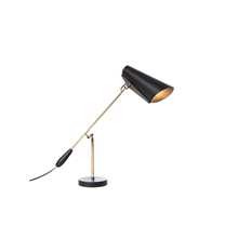 Birdy Bordlampe Sort/Messing - Northern