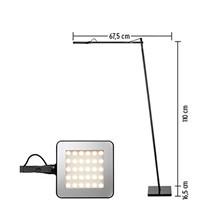 Kelvin LED F Gulvlampe Sort - Flos