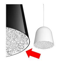 Can Can Pendel Inderskærm Transparent - Flos