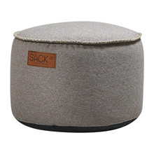 RETROit Canvas Drum Puf - Sand fra SACKit