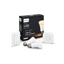 Philips Hue White Ambiance Starter Kit w/Bridge & Himmennin - Philips