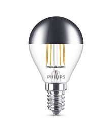 Päronlampa LED 4W Filament Toppreflektor Klot (397lm) E27 - Philips