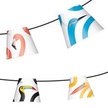 Party Polonaise String Light Birds Of Prey - Fatboy®