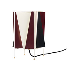 B-4 Bordlampe Wine Red Semi Matt - GUBI
