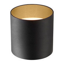 Cozy Round Sort/Guld Bordlampe - Light-Point