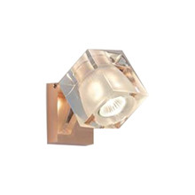Ice Cube Classic Vegglampe/Taklampe Kobber - Fabbian