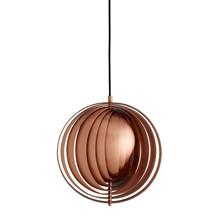 Moon Pendel Lampe - Small Kobber - Design Verner Panton