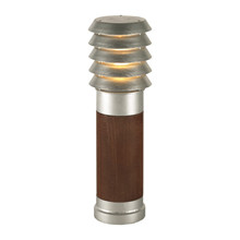 Alta Pullert Lampe, Træ - Lille, Galvaniseret - Norlys