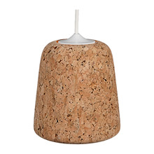 Material Pendant Lampe Cork Light från Roomstore