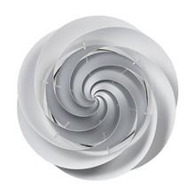 Swirl Loft/Væg Sølv - Le Klint