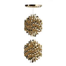 Spiral SP2 Guld pendel lampe design Verner Panton