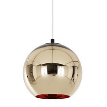 Bronze Kobber Pendel lampe Ø25 fra Tom Dixon