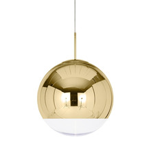 Mirror Ball Pendel Gull fra Tom Dixon