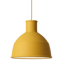 Unfold Pendel Lampe Sennepsgul - Muuto