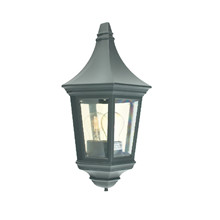Venedig Udendørs Væglampe Sort – Norlys