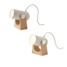 Le Klint Carronade - Bord-/Væglampe 2-Pak - sand