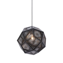 Etch Pendellampe Light Sort fra Tom Dixon