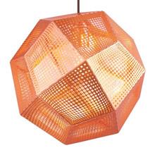 Etch Light Pendel lampe Kobber fra Tom Dixon