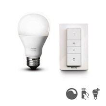 Philips Hue White LED 9,5W E27 trådlösa dimmerset