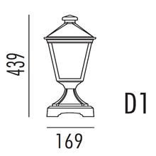Torino Hagelampe Modell D1 fra Noral