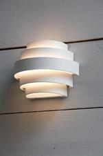 ETAGE Wall IP44 White Udendørslampe - Markslöjd