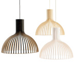 Victo 4250 Pendel Lampe Sort - Secto Design