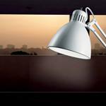 Archi T2 bordlampe mat hvid fra Light-Point